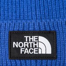 Шапка The North Face TNF Logo Box Pom TNF Blue фото- 1