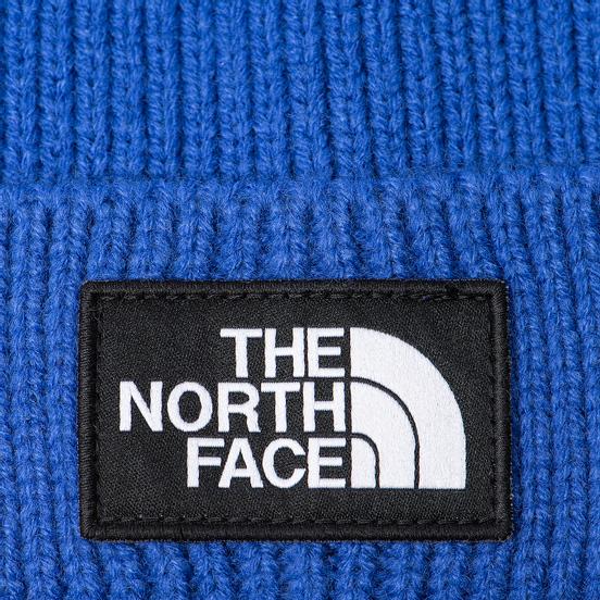Шапка The North Face TNF Logo Box Pom TNF Blue