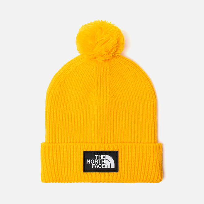Шапка The North Face TNF Logo Box Pom TNF Yellow