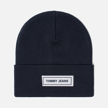 Шапка Tommy Jeans Tape Beanie Black Iris