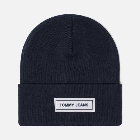 Шапка Tommy Jeans Tape Beanie Black Iris