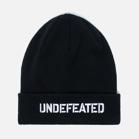 Шапка Undefeated Stencil Beanie Black