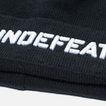 Undefeated Stencil Beanie Hat Black photo- 1