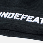 Шапка Undefeated Stencil Beanie Black фото- 1