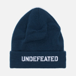 Undefeated Stencil Beanie Hat Navy photo- 0