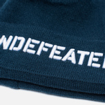 Undefeated Stencil Beanie Hat Navy photo- 1