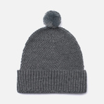 Шапка Universal Works Bobble Merino Moss Grey фото- 0