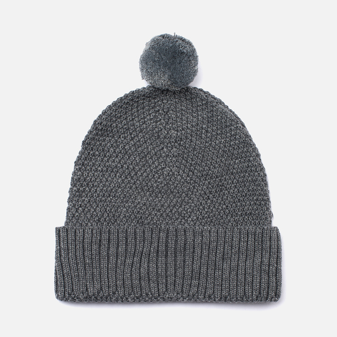 Шапка Universal Works Bobble Merino Moss Grey