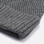 Шапка Universal Works Bobble Merino Moss Grey фото- 1