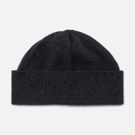 Universal Works Lambswool and Angora Hat Charcoal photo- 0