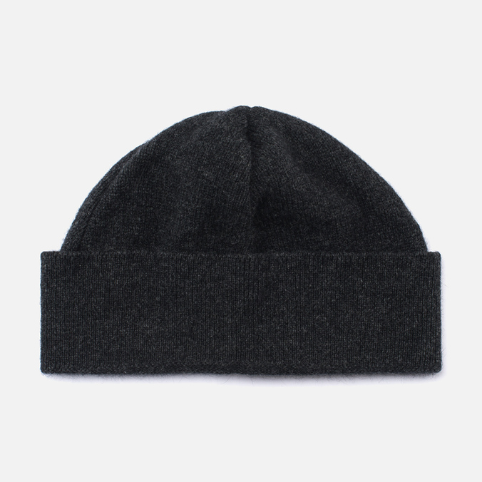 Universal Works Lambswool and Angora Hat Charcoal