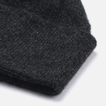 Universal Works Lambswool and Angora Hat Charcoal photo- 1