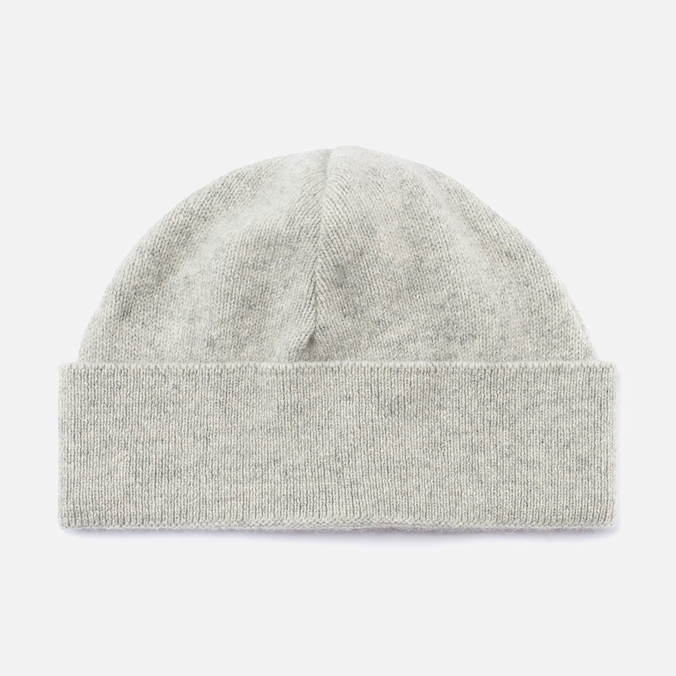 Universal Works Lambswool and Angora Hat Grey