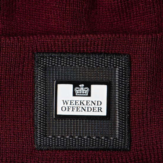 Шапка Weekend Offender Pedar Burgundy