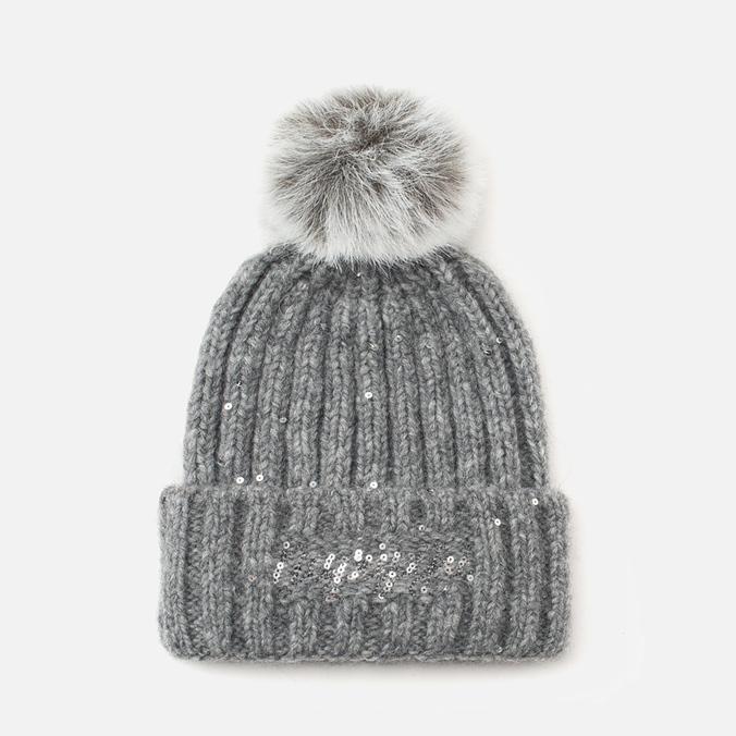 Женская шапка Napapijri Fabralyn Grey Melange