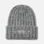Женская шапка Napapijri Fabralyn Grey Melange фото- 1