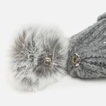 Женская шапка Napapijri Fabralyn Grey Melange фото- 3