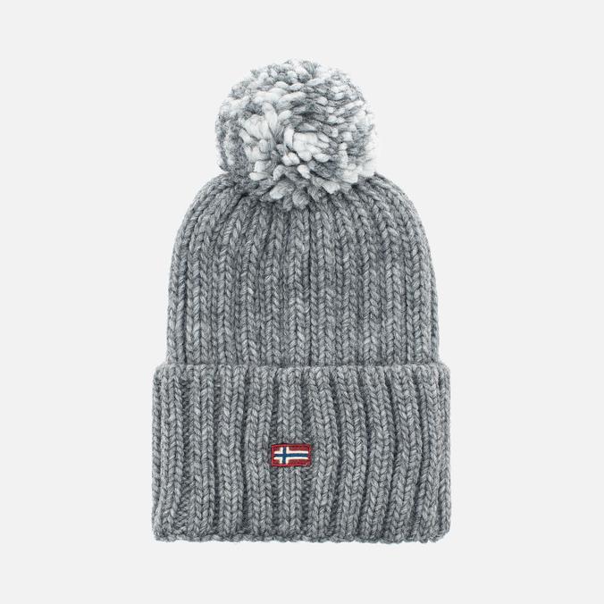Женская шапка Napapijri Itang Grey Melange