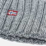 Женская шапка Napapijri Itang Grey Melange фото- 2