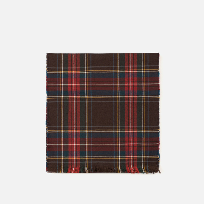 Шарф Baracuta Tartan Dark Brown