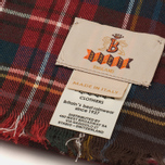 Шарф Baracuta Tartan Dark Brown фото- 2
