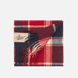 Barbour Baybridge Scarf Navy/Red photo- 2