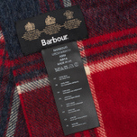 Barbour Baybridge Scarf Navy/Red photo- 3