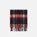 Шарф Barbour Brignall Lambswool Red/Navy фото- 0