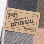 Шарф Barbour Large Tattersall Lambswool Camel/Red фото- 2