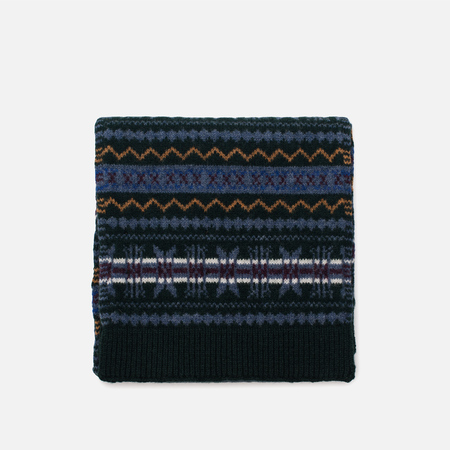 Шарф Barbour Martingale Fairisle Dark Green/Blue