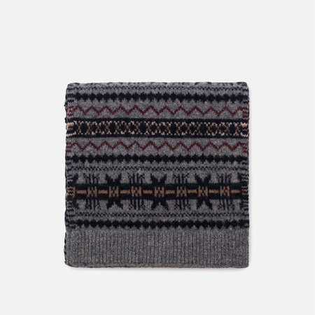 Шарф Barbour Martingale Fairisle Grey