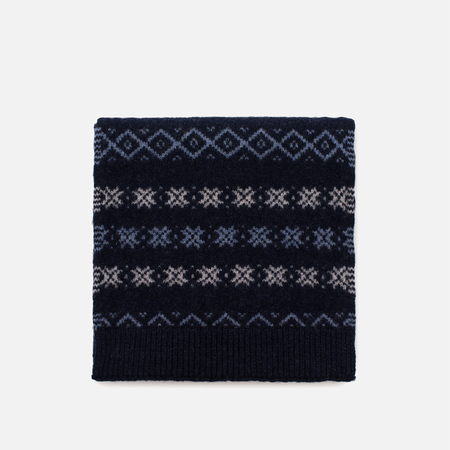 Шарф Barbour Martingale Fairisle Navy