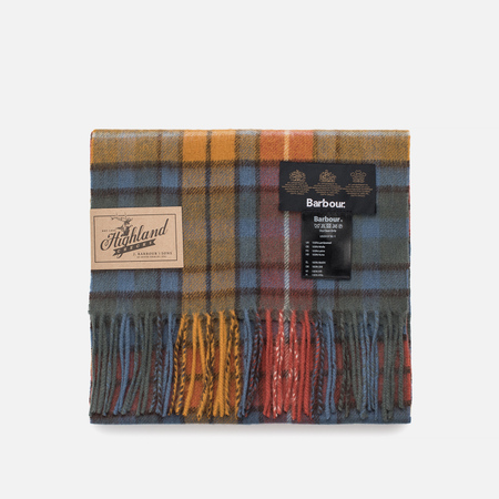 Шарф Barbour New Check Tartan Antique Buchanan