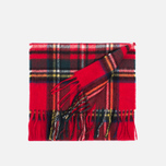 Шарф Barbour New Check Tartan Royal фото- 2