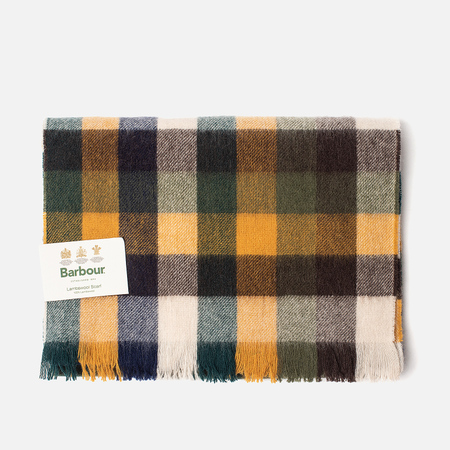 Шарф Barbour Nine Square Green