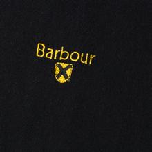 Шарф Barbour Plain Lambswool Black фото- 1