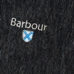 Barbour Plain Lambswool Scarf  Charcoal photo- 1