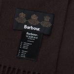 Шарф Barbour Plain Lambswool Chocolate фото- 3