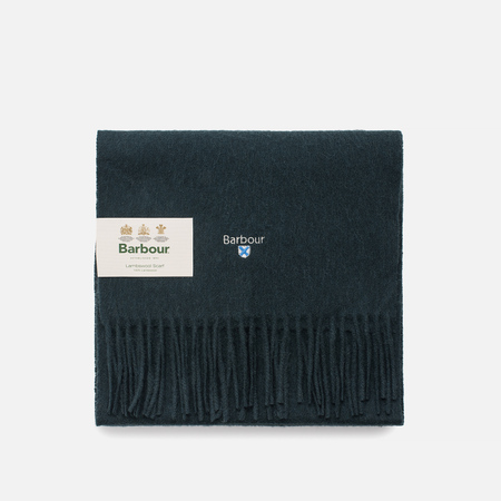 Шарф Barbour Plain Lambswool Dark Sage