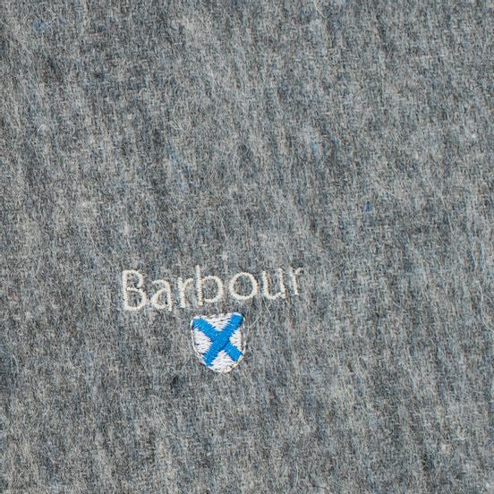Шарф Barbour Plain Lambswool Light Grey Marl