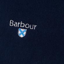 Шарф Barbour Plain Lambswool Navy фото- 1