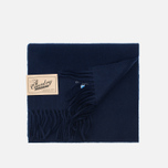 Шарф Barbour Plain Lambswool Navy фото- 3