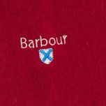 Шарф Barbour Plain Lambswool Red фото- 1