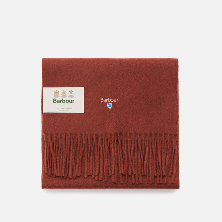Шарф Barbour Plain Lambswool Rust