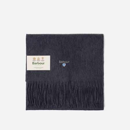Шарф Barbour Plain Lambswool Sapphire Blue