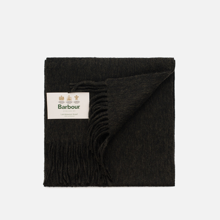 Шарф Barbour Plain Lambswool Seaweed