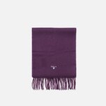 Шарф Barbour Plain Lambswool Thistle фото- 0