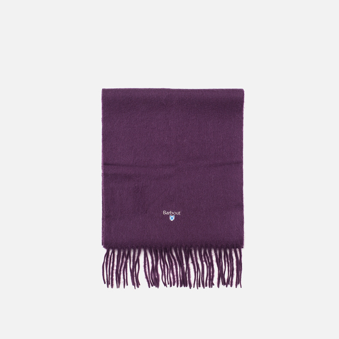 Шарф Barbour Plain Lambswool Thistle