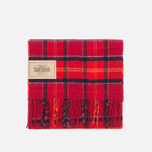 Barbour Tartan Lambswool Scarf Cardinal photo- 0
