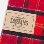 Barbour Tartan Lambswool Scarf Cardinal photo- 1